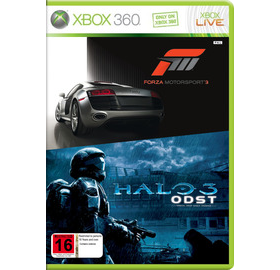 XBox 360 hry - Forza 3, Halo 3 ODST