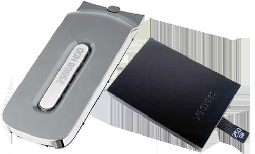 Harddisk na XBox 360