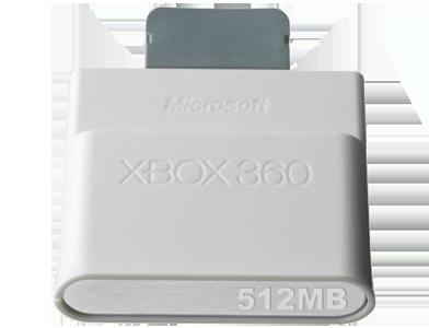 Paměťová karta na xbox 360